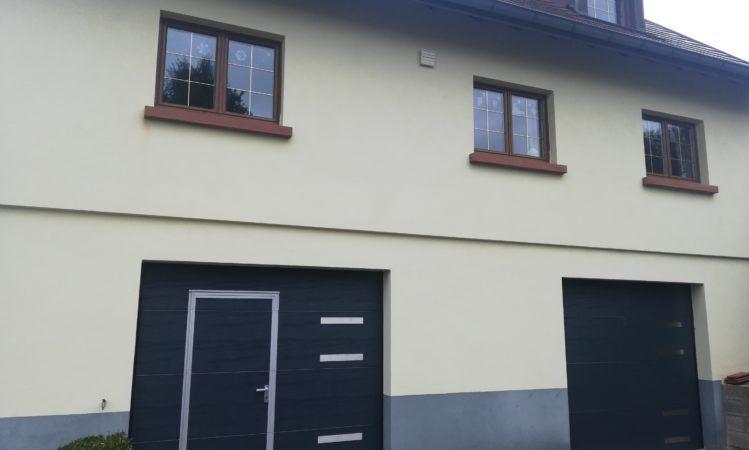 Portes de garage canton de Rouffach Osenbach